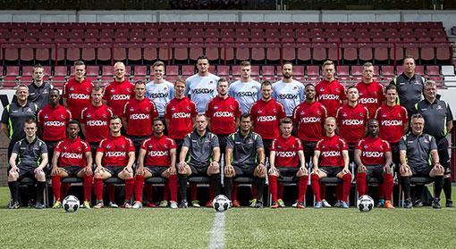 Helmond Sport selectie 2016-2017