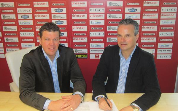 Van Den Hurk Bedrijfswagens Tekent Sponsorcontract Helmond Sport